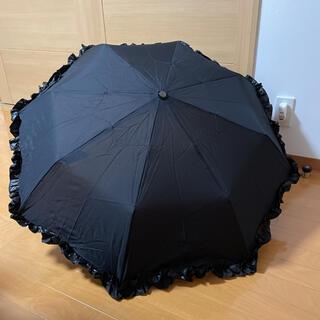 シャンタルトーマス(Chantal Thomass)の折りたたみ傘 黒(傘)