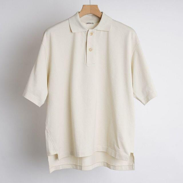 AURALEE 21SS ビッグポロシャツ 4 メンズのトップス(ポロシャツ)の商品写真