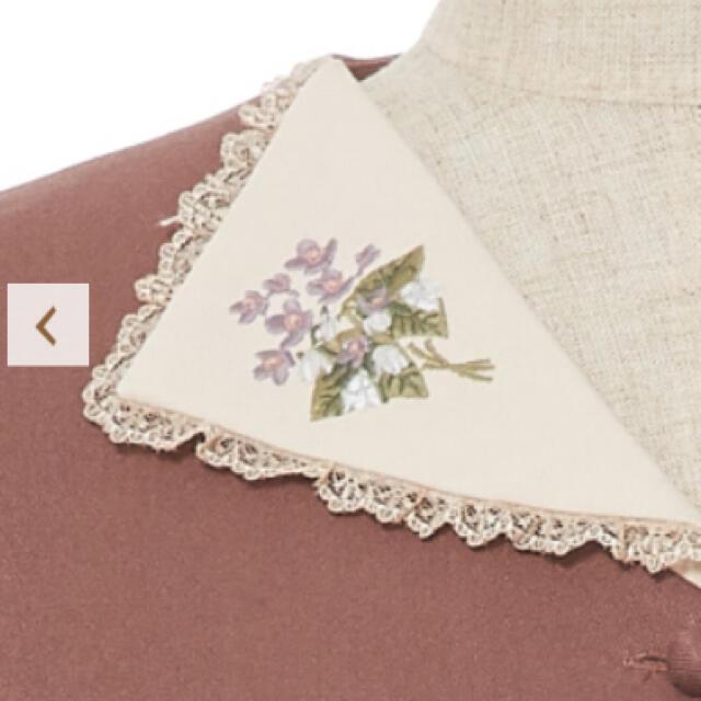 F i.n.t(フィント)の刺繍襟ワンピース レディースのワンピース(ひざ丈ワンピース)の商品写真