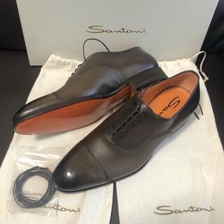 サントーニ(Santoni)の【約13万・新品】Santoni サントーニ ビジネスシューズ 革靴(ドレス/ビジネス)