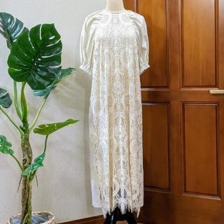 Ameri VINTAGE - 【Ameri】2wayパフスリーブドレス♡新品/未使用/タグ付き♡アイボリー