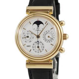 インターナショナルウォッチカンパニー(IWC)のIWC  ダヴィンチ クロノ IW3750 自動巻き メンズ 腕時計(腕時計(アナログ))
