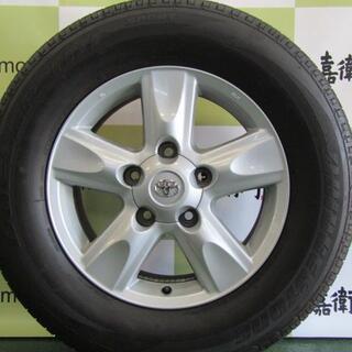 トヨタ(トヨタ)のトヨタ 200系 ランドクルーザー前期純正 4本セット(タイヤ・ホイールセット)