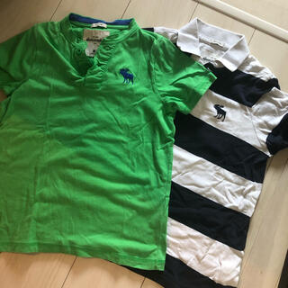アバクロンビーアンドフィッチ(Abercrombie&Fitch)のアバクロ 男の子 半袖 140.150セット(Tシャツ/カットソー)