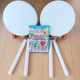 Wii U - 太鼓の達人 Wii U ば〜じょん! タタコン2個