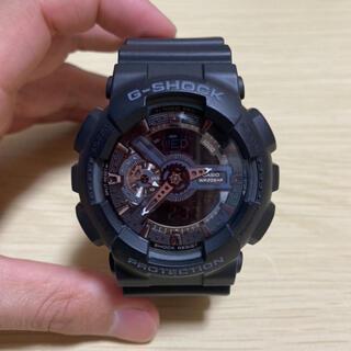 G-SHOCK - 【美品】CASIO G-SHOCK GA-110-1BJF 腕時計 黒