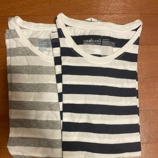 MUJI (無印良品) - 無印良品 Tシャツ 2枚セット