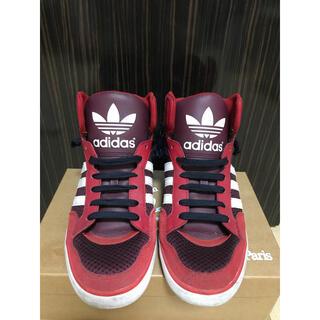 adidas - adidas スニーカー 赤