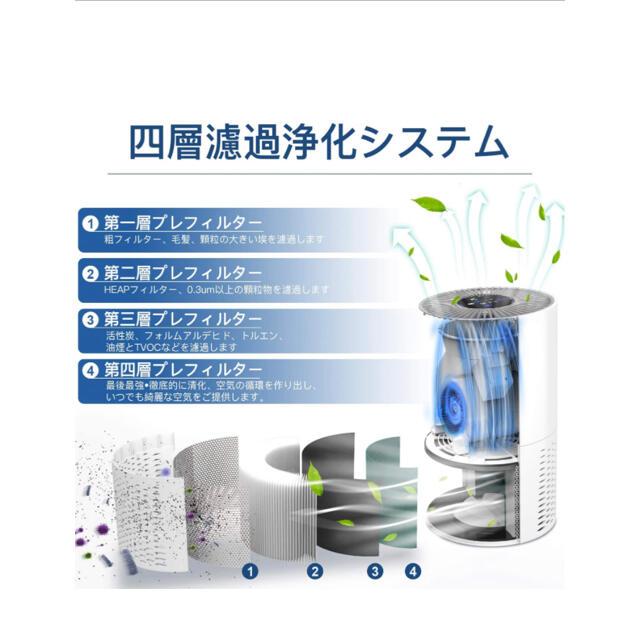 空気清浄器 空気清浄機 スマホ/家電/カメラの生活家電(空気清浄器)の商品写真