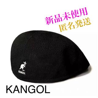 KANGOL - ハンチング ベレー帽 ブラック
