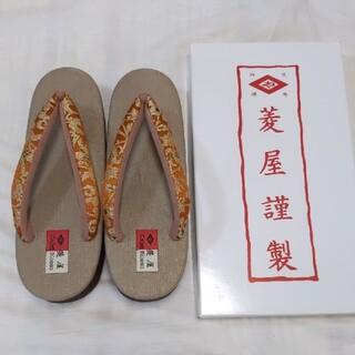 カレンブロッソ(菱屋カフェ草履)M(下駄/草履)