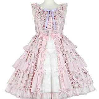 Angelic Pretty - Angelic Pretty Petit Bouquetジャンパースカート