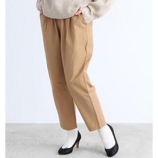 ドットアンドストライプスチャイルドウーマン(Dot&Stripes CHILDWOMAN)のCHILD WOMAN 綿ナイロン ウエストラインゴム テーパードパンツ(カジュアルパンツ)