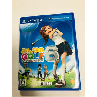 プレイステーションヴィータ(PlayStation Vita)のみんなのGOLF 6(携帯用ゲームソフト)