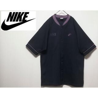 NIKE - 4 NIKE トラックジャケット L 刺繍ロゴ ベースボールシャツ