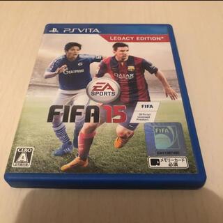 プレイステーションヴィータ(PlayStation Vita)のPSVITA FIFA 15(携帯用ゲームソフト)