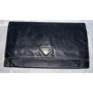 プラダ(PRADA)のプラダ 長財布 革製 PRADA(長財布)