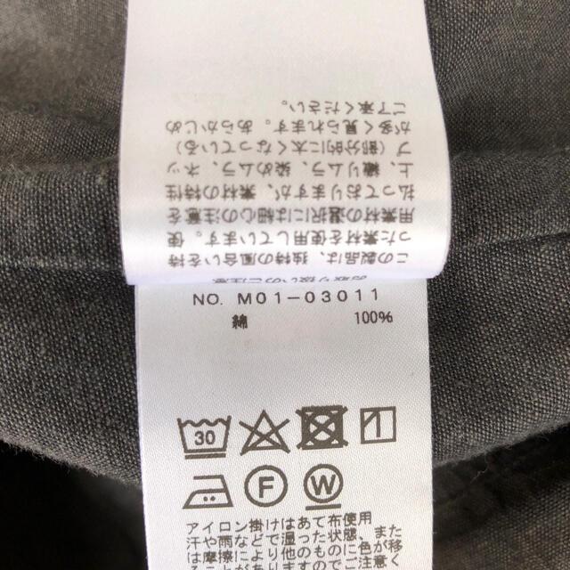 COMOLI(コモリ)の18ss comoli ベタシャン セットアップ チャコール メンズのスーツ(セットアップ)の商品写真