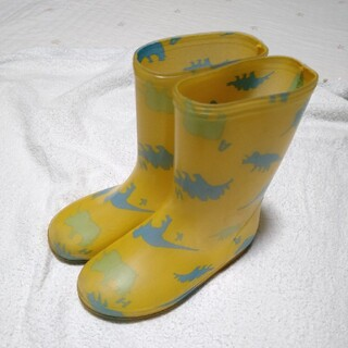 HAKKA kids 恐竜柄長靴 17センチ