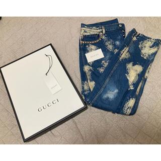 Gucci - GUCCI ブリーチデニム