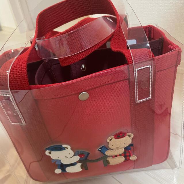 familiar(ファミリア)のファミリアajewコラボバッグ レディースのバッグ(トートバッグ)の商品写真