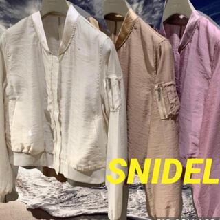 スナイデル(snidel)のsnidel(スナイデル) シアーブルゾン 美品✨(ブルゾン)