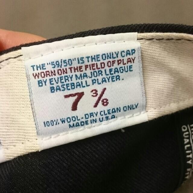 NEW ERA(ニューエラー)の希少 USA製 ニューエラ USA メンズの帽子(キャップ)の商品写真