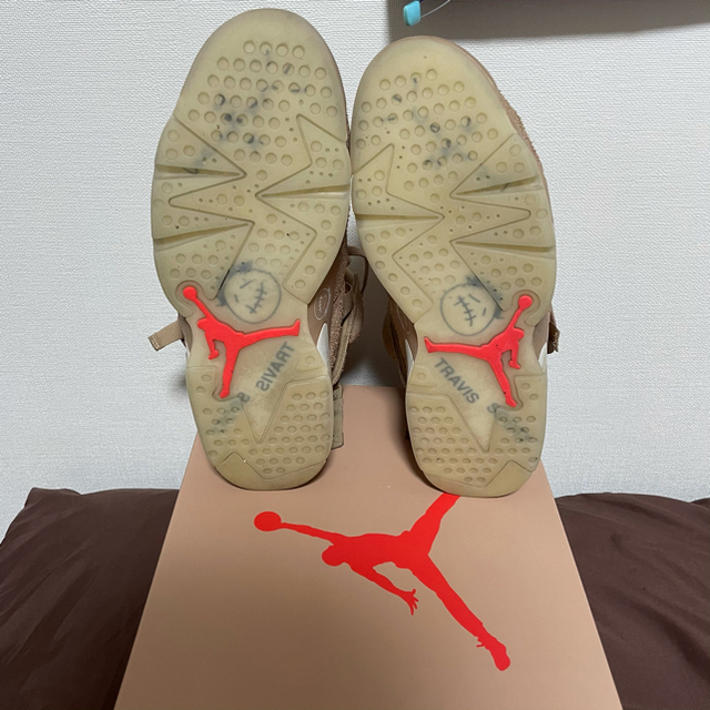 NIKE(ナイキ)のTravis scott Nike Jordan 6 メンズの靴/シューズ(スニーカー)の商品写真