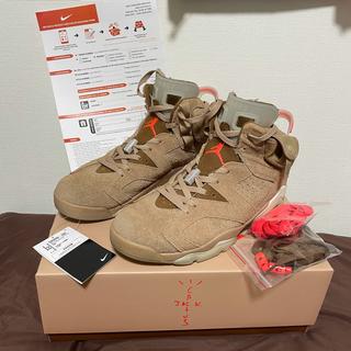 ナイキ(NIKE)のTravis scott Nike Jordan 6(スニーカー)