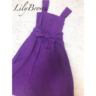 Lily Brown - LilyBrown☆シンプルサマーワンピース