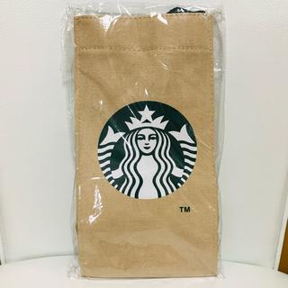 スターバックスコーヒー(Starbucks Coffee)のスタバ スターバックス トート 海外 ドリンクホルダー 青 紺 ブルー ネイビー(トートバッグ)