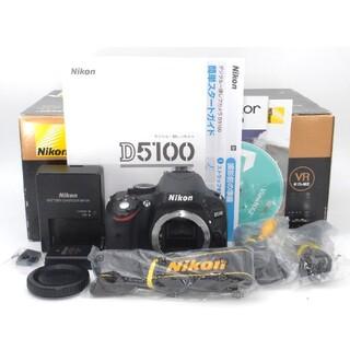 Nikon - 初心者・女性向け一眼レフカメラ♪Nikon D5100 ボディ