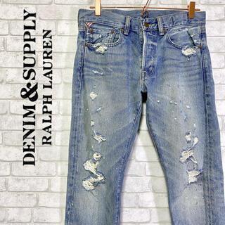 デニムアンドサプライラルフローレン(Denim & Supply Ralph Lauren)のDENIM&SUPPLY デニム&サプライ ラルフローレン クラッシュデニム(デニム/ジーンズ)