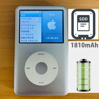 Apple - iPod Classic 第6.5世代 ssd、バッテリー交換済み