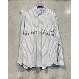 NUMBER (N)INE - The Soloist.ソロイスト oversized B.D Shirt. M