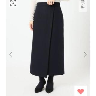 IENA - ウォッシャブルフラノラップスカート