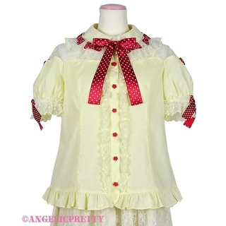 Angelic Pretty - ☆Angelic Pretty☆スカラップチュールブラウス〈イエロー〉