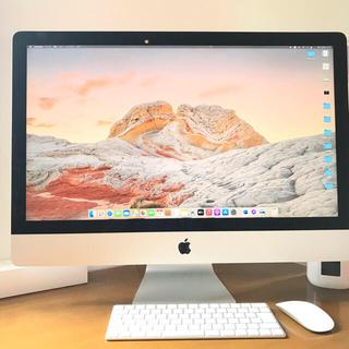 マック(Mac (Apple))の【美品】iMac 27-inch 1TB 2017モデル5K ディスプレイ (デスクトップ型PC)