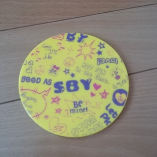 エスビーワイ(SBY)の新品 ロゴ手鏡 ハンドミラー(ミラー)