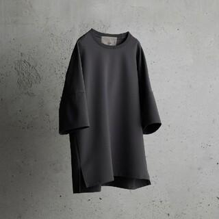 アタッチメント(ATTACHIMENT)のWYM / IRREGULAR SLEEVE RELAX TEE M(Tシャツ/カットソー(半袖/袖なし))