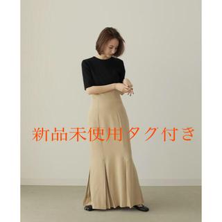トゥデイフル(TODAYFUL)のlouren mermaid pleats skirt 新品未使用タグ付(ロングスカート)