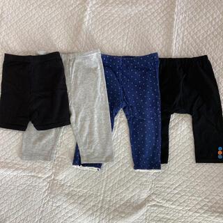 ムジルシリョウヒン(MUJI (無印良品))のレギンス パンツ 4枚セット(パンツ/スパッツ)