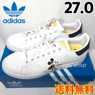 adidas - 【新品】アディダス スタンスミス オールド ミッキー ホワイト 27.0