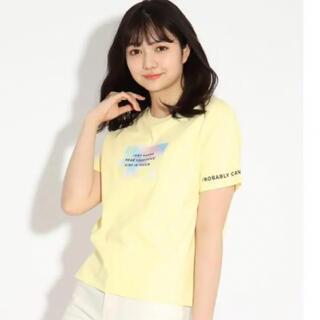 PINK-latte - ピンクラテ タイダイ 半袖Tシャツ イエロー 165