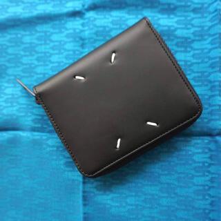 マルタンマルジェラ(Maison Martin Margiela)の未使用美品 maison margiela メゾンマルジェラ 二つ折り財布 (折り財布)
