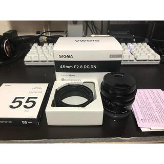 SIGMA - SIGMA  シグマ 45mm F2.8 DG DN(Eマウント)