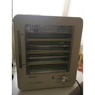 MORITA モリタ 加湿機能付き 遠赤外線 電気ストーブ 暖房器具(電気ヒーター)