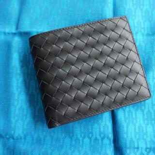 ボッテガヴェネタ(Bottega Veneta)の未使用美品 ボッテガヴェネタ BOTTEGA VENETA 2つ折り 財布 (折り財布)