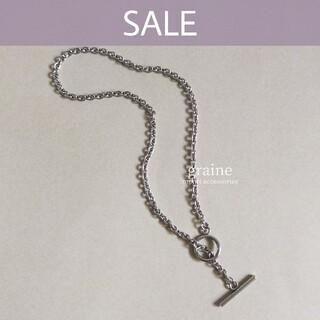 トゥデイフル(TODAYFUL)の【NEW】stainless necklace 40cm【S】/ silver(ネックレス)