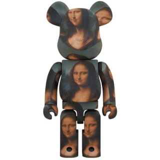 メディコムトイ(MEDICOM TOY)のBE@RBRICK LEONARD DE VINCI Mona Lisa 100(その他)